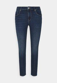 ONLY Petite - ONLDAISY LIFE PUSH UP  - Jeans Skinny Fit - dark blue denim - 0