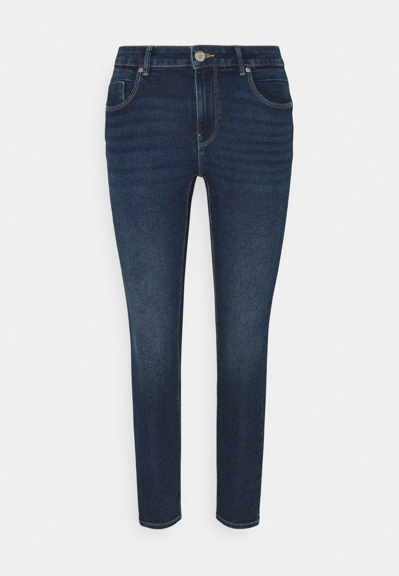 ONLY Petite - ONLDAISY LIFE PUSH UP  - Jeans Skinny Fit - dark blue denim