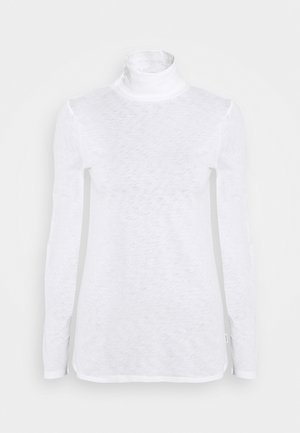 LONG SLEEVE TURTLE NECK - Long sleeved top - scandinavian white