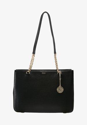 BRYANT SHOP TOTE SUTTON - Handbag - black/gold