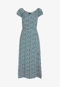 Honey Punch - OFF SHOULDER MAXI DRESS - Žerzejové šaty - green - 5