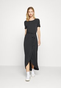 Object - OBJANNIE NADIA DRESS - Maxikjole - black - 0