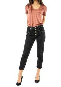 PLEASE - Slim fit jeans - noir - 1