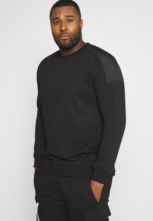 MILITARY SHOULDER CREW  - Sweatshirt - black