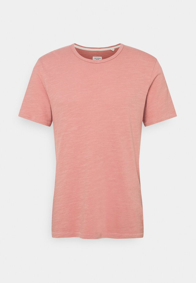 CLASSIC TEE FLAME - Basic T-shirt - rose