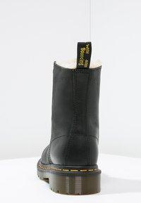 Dr. Martens - 1460 SERENA - Lace-up ankle boots - black - 4