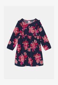 GAP - TODDLER GIRL FLORAL - Košilové šaty - navy - 0