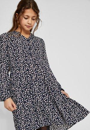 Shirt dress - navy aop