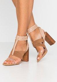 River Island - Sandaler med høye hæler - light pink - 0