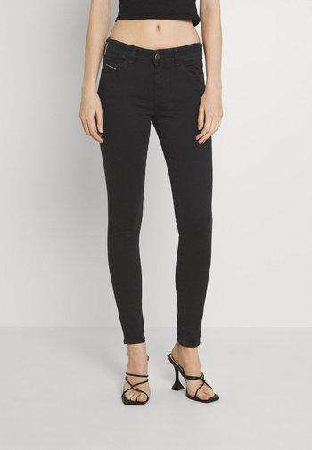 SLANDY - Jeans Skinny Fit - washed black