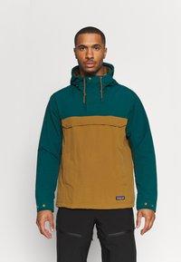 Patagonia - ISTHMUS ANORAK - Hardshell jacket - mulch brown - 0