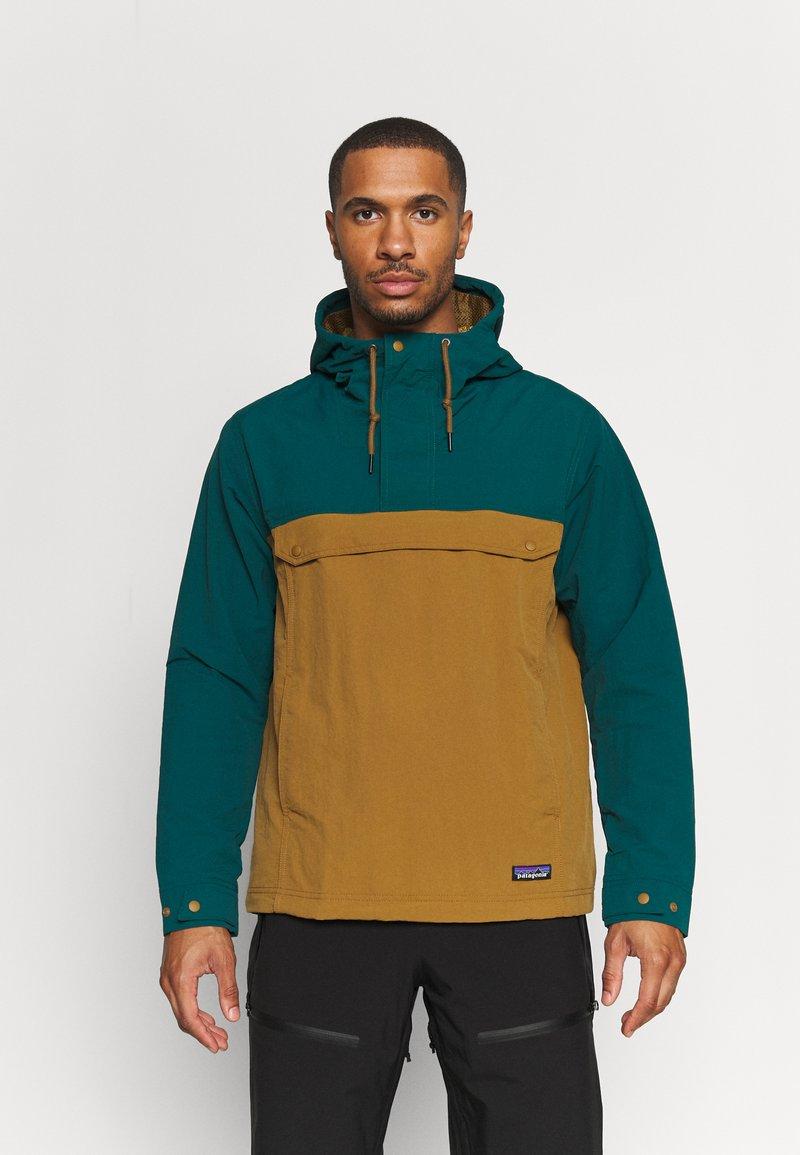 Patagonia - ISTHMUS ANORAK - Hardshell jacket - mulch brown
