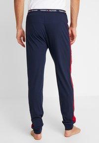 Tommy Hilfiger - PANEL PANT - Pyjama bottoms - blue - 2