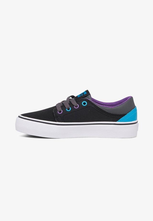 TRASE - Sneakers laag - black/grey/blue