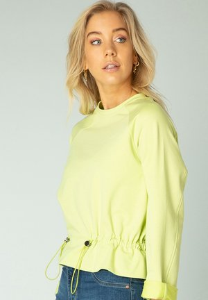 Long sleeved top - pistachio
