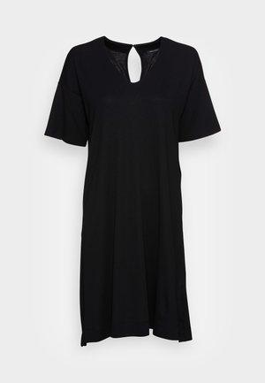 DRESS SHORT SLEEVE - Robe d'été - black