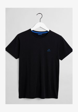 CONTRAST - Jednoduché triko - black