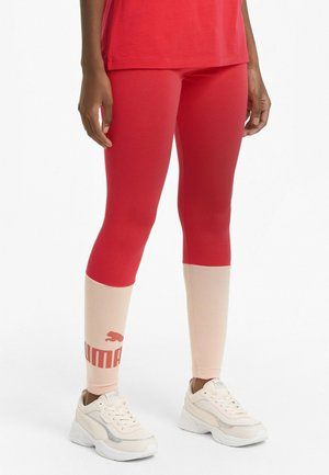 Leggings - poppy red