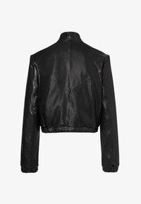 Laurel - Leather jacket - schwarz - 1