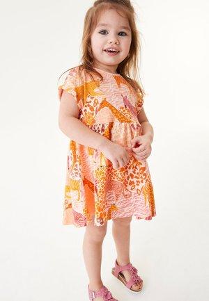 Jersey dress - orange