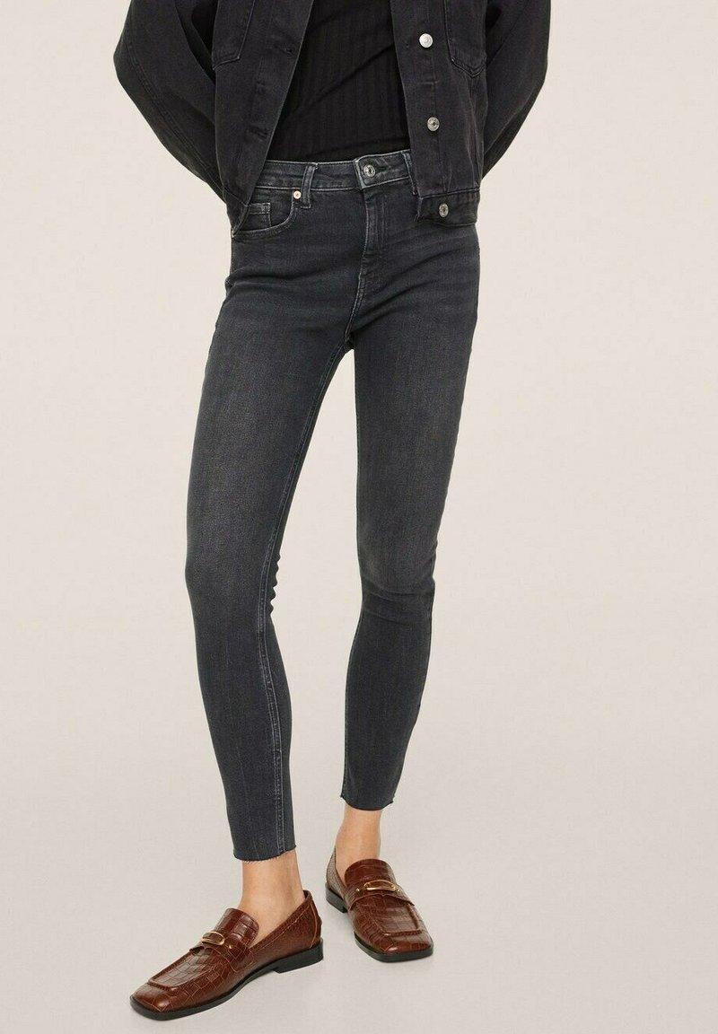 Mango - Jeans Skinny Fit - open grey