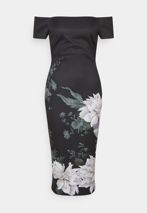 PEAONY - Robe fourreau - black