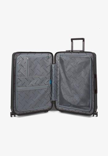 SEEKER - Wheeled suitcase - black