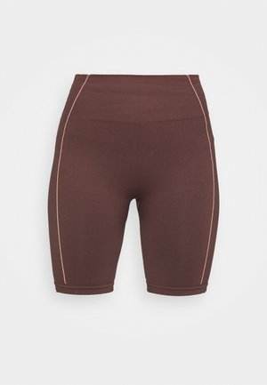 TONI DREHER X nu-in GENESIS SEAMLESS CYCLING SHORTS - Shorts - brown/pink