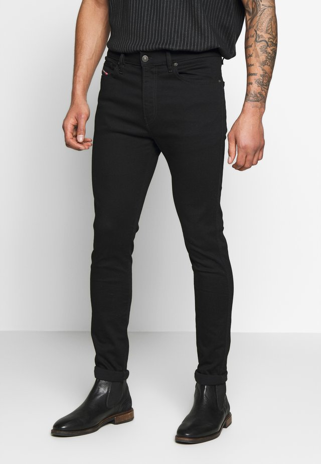 D-ISTORT - Jeans Skinny Fit - black denim
