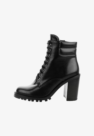 RAMERA - Lace-up ankle boots - black