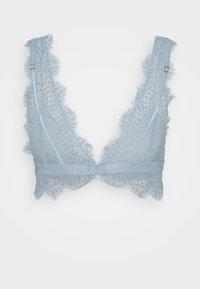 Lindex - NICOLE BRALETTE - Triangel-BH - light dusty blue - 1