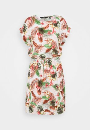 VMSIMPLY EASY TIE SHORT DRESS - Vestito estivo - birch/selma