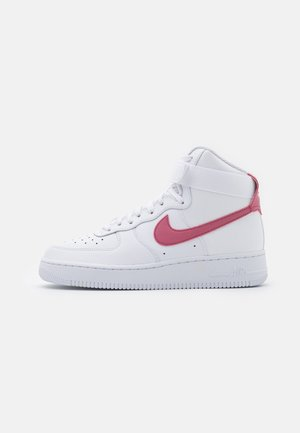 AIR FORCE 1 - High-top trainers - white/desert berry