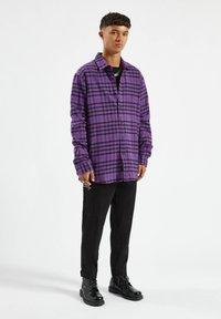PULL&BEAR - Shirt - purple - 1