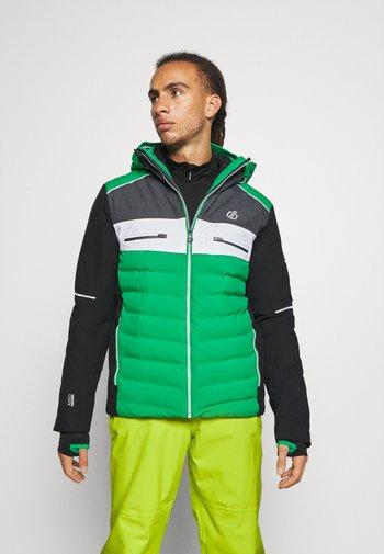 CIPHER JACKET - Lyžařská bunda - vivgreen/black