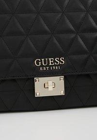 Guess - LAIKEN SHOULDER BAG - Handbag - black - 7