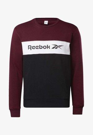 CLASSICS LINEAR CREW SWEATSHIRT - Sweatshirt - burgundy