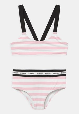 EVERYDAY SET - Bikini - bianco/rosa