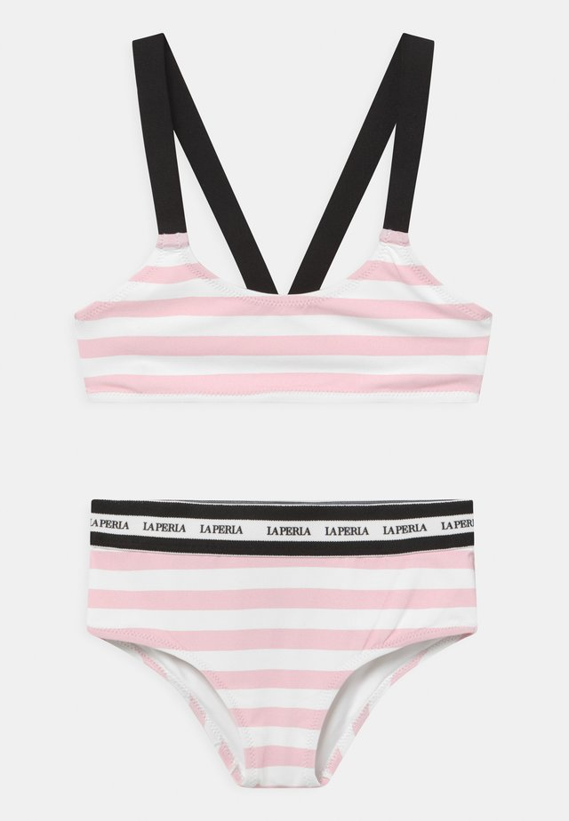 EVERYDAY SET - Bikini - bianco/rosa