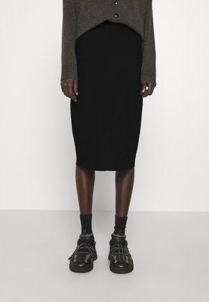 KARINNA - Pencil skirt - black