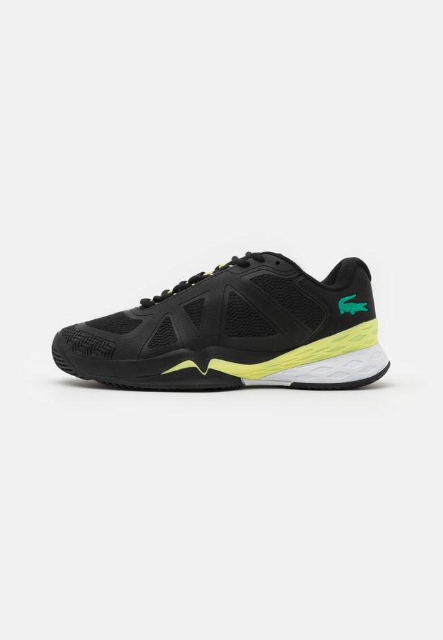 LC SCALE II - Zapatillas de tenis para todas las superficies - black/light yellow