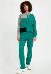 Finn Flare - Tracksuit bottoms - green - 0