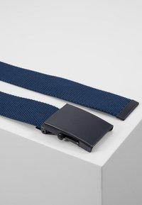 Pier One - UNISEX - Riem - black/dark blue/khaki - 3