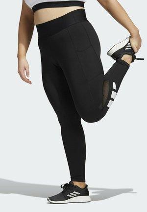 TF L BAR T PS - Leggings - black