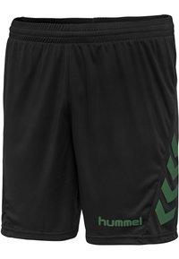 Hummel - DUO SET - Sports shorts - evergreen/black - 7