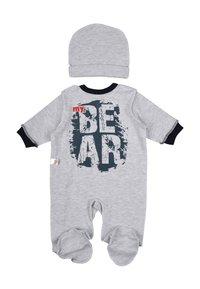 Leo - BABY SET BEAR 4 PACK - Kruippakje - grau/blau - 3