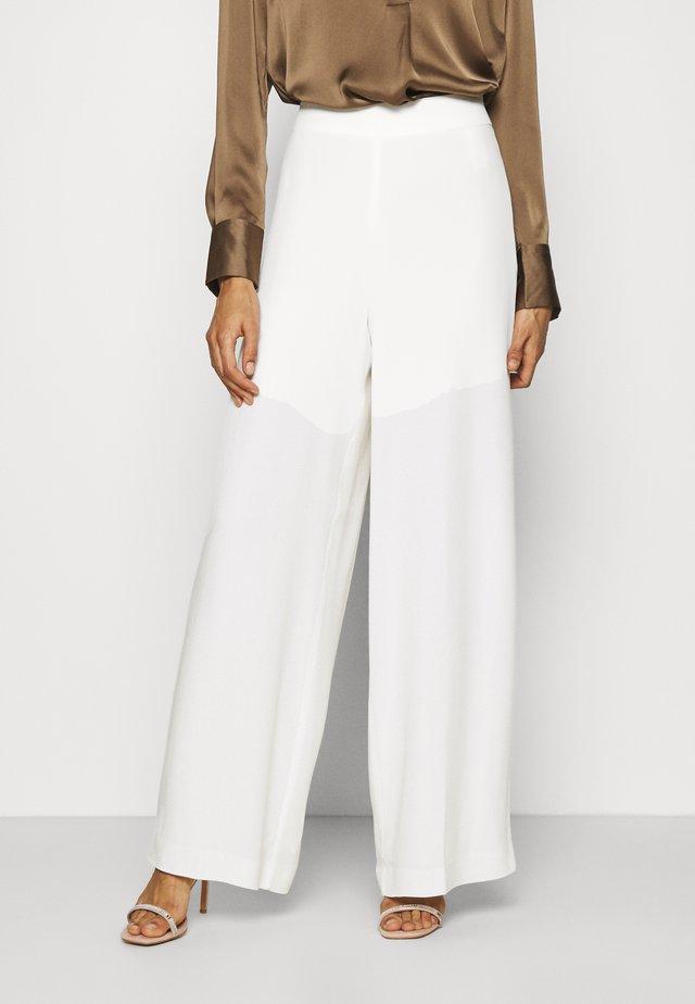 Pantalon classique - snow white