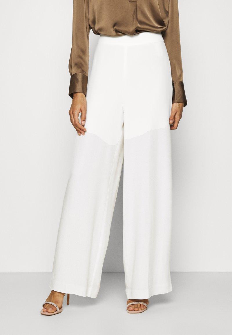 IVY & OAK BRIDAL - Spodnie materiałowe - snow white