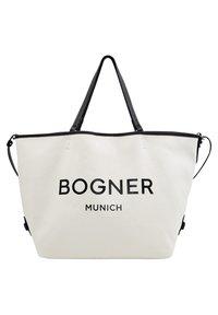 Bogner - LENK JANE - Tote bag - creme/schwarz - 1