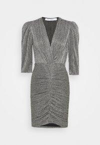 Iro - CLUZCO - Shift dress - black/silver - 0
